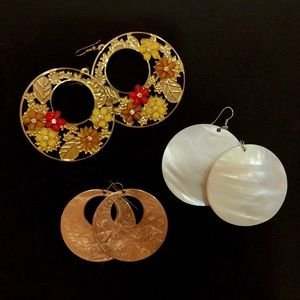 Jewelry - Circle Earring Collection!